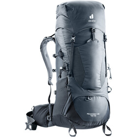 deuter Aircontact Lite 40 + 10 Backpack, negro/gris